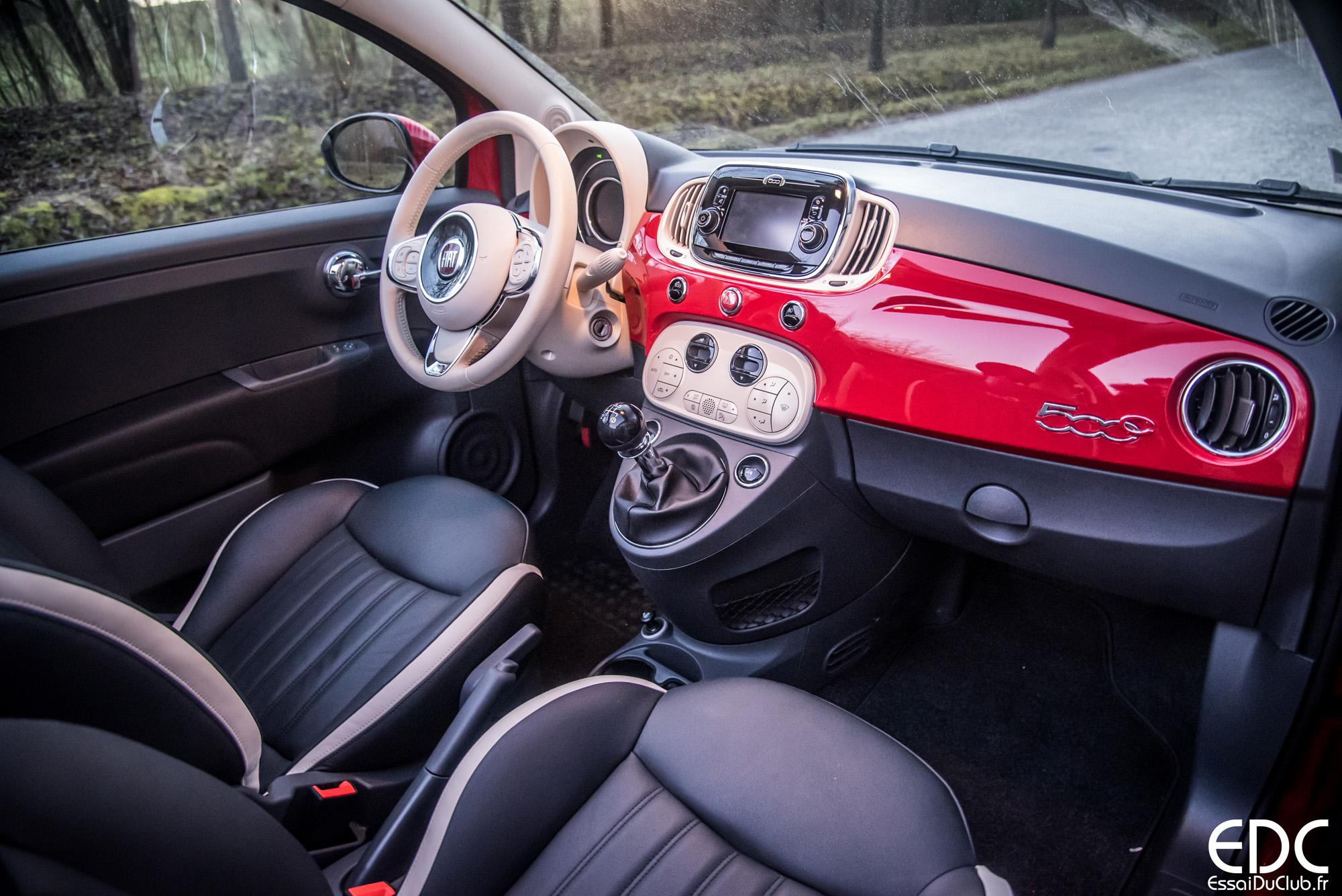 Essai Fiat 500C sans le toit ! - Les Essais du Club