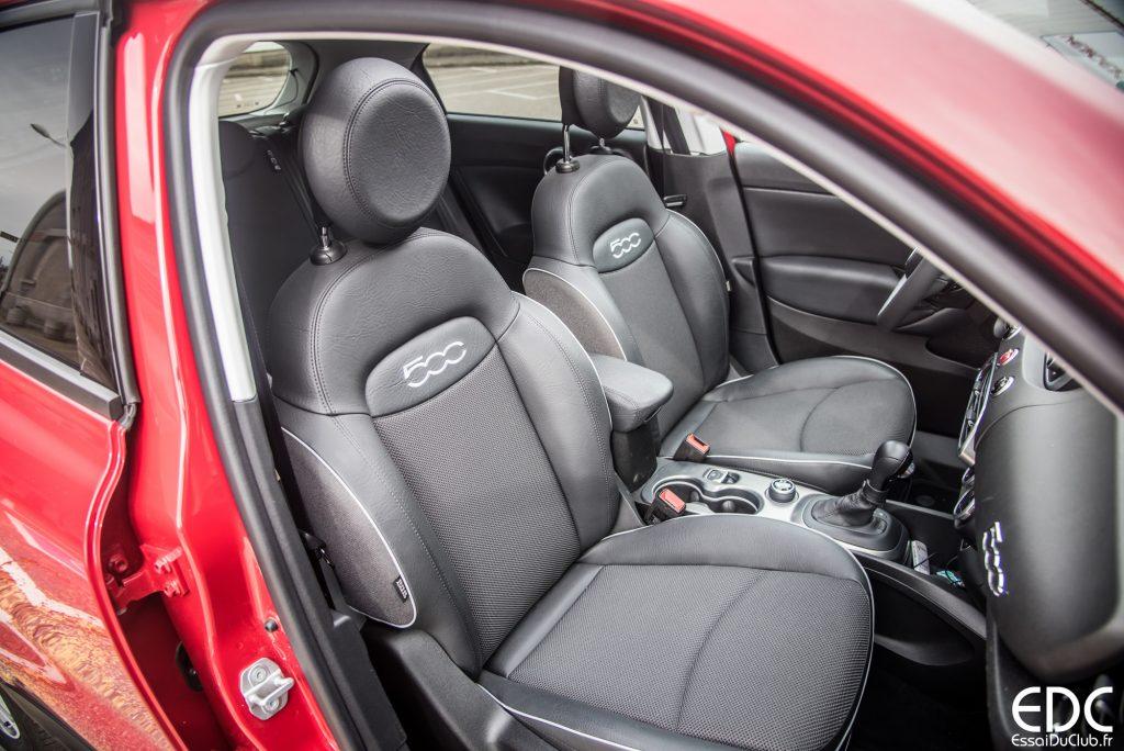 Fiat 500x essai du crossover aux couleurs italiennes for Interieur 500x