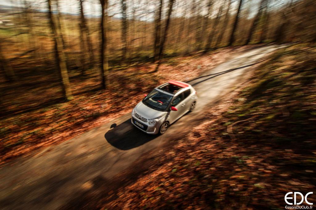 Essai Citroën C1 Airscape toit ouvrant