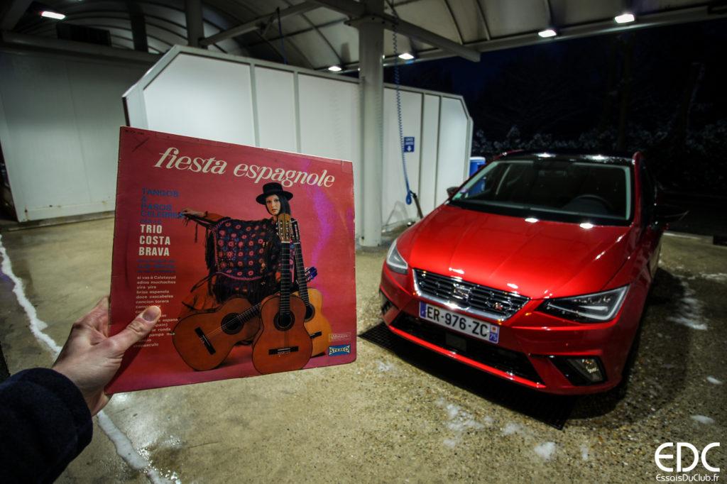 Seat Ibiza Fiesta espagnole
