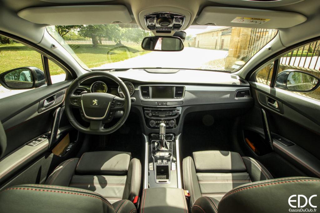 Peugeot 508 SW GT intérieur