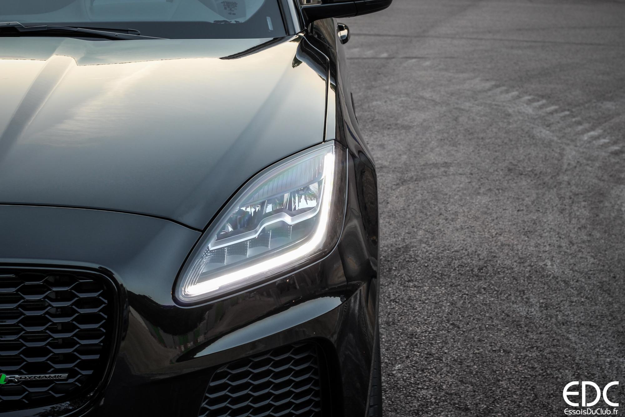 Jaguar E-PACE phare