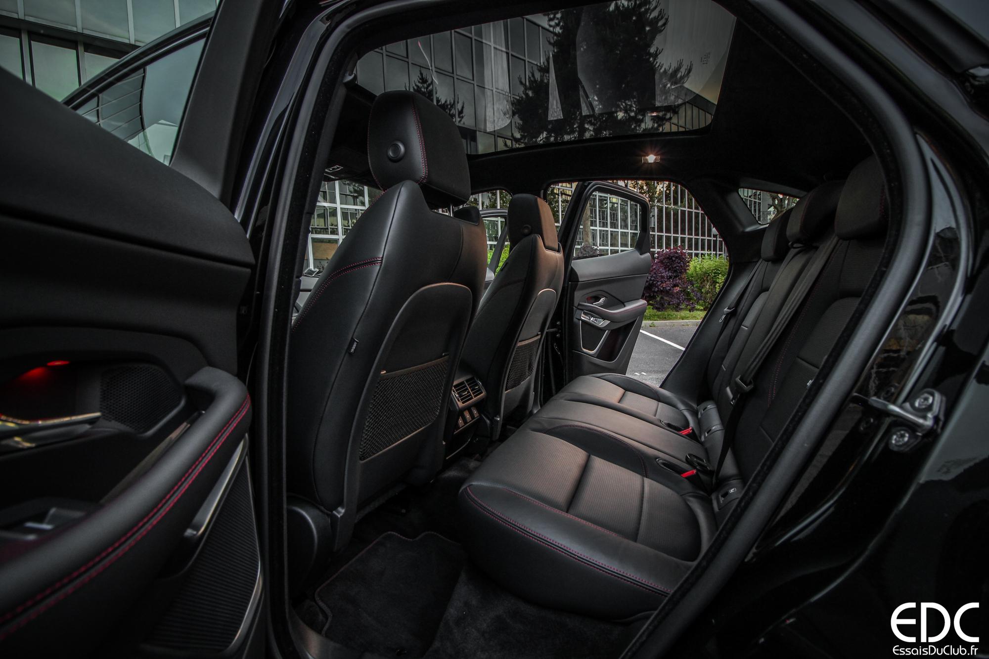 Jaguar E-PACE sièges arrière