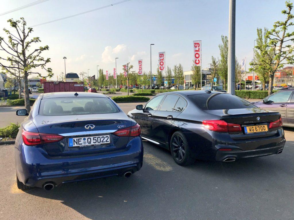 Infiniti Q50 vs BMW Série 5