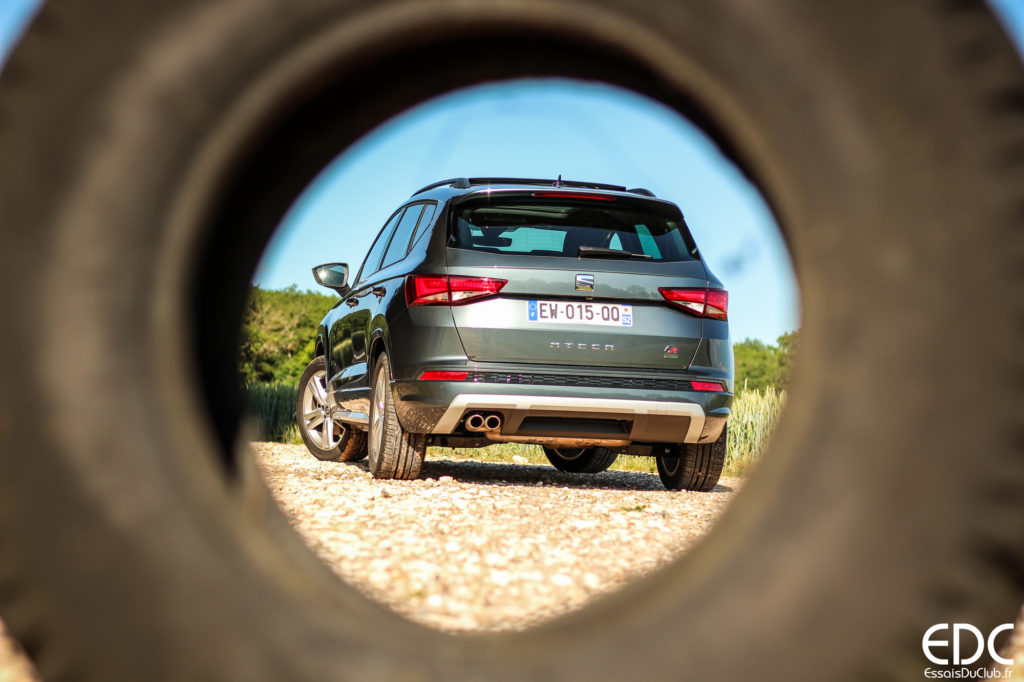 Seat Ateca FR pneu