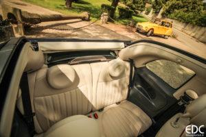 Fiat 500C 60th sièges arrière