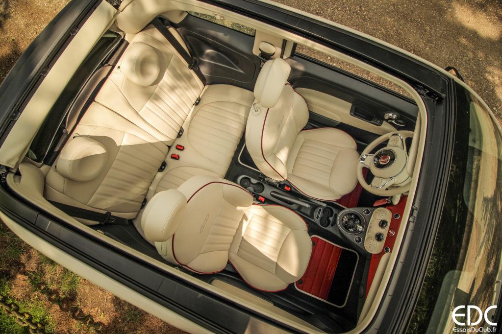 Fiat 500C intérieur