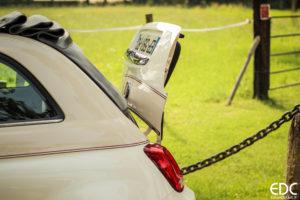 Fiat 500C coffre
