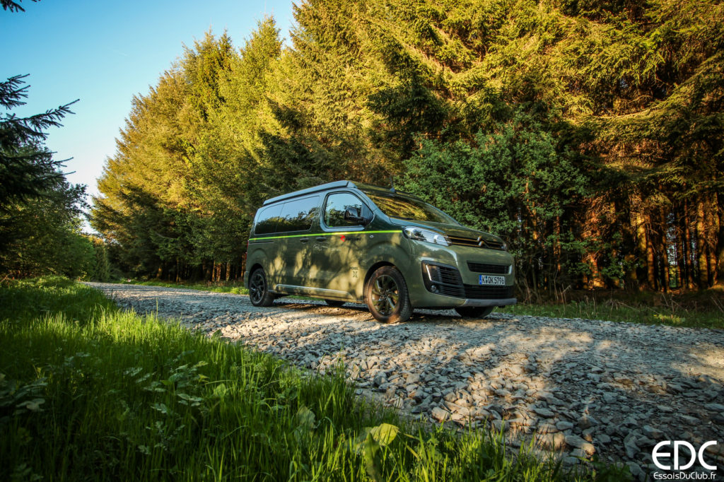Citroen Space Tourer Rip Curl camping
