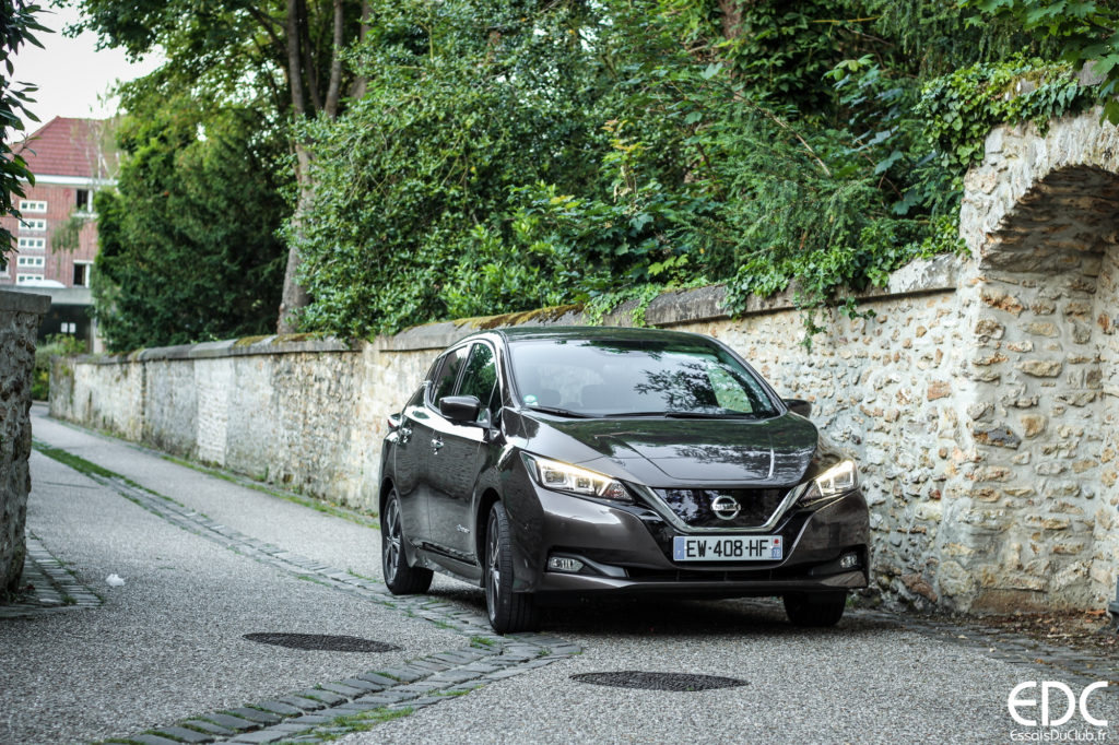 Nissan Leaf route