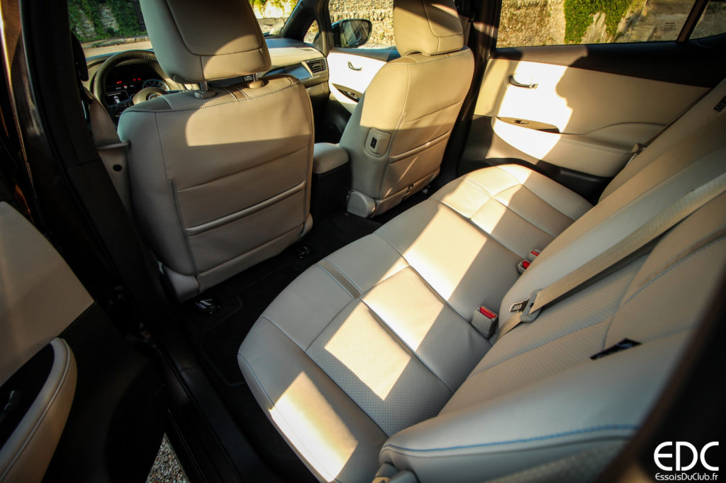 Nissan Leaf habitacle