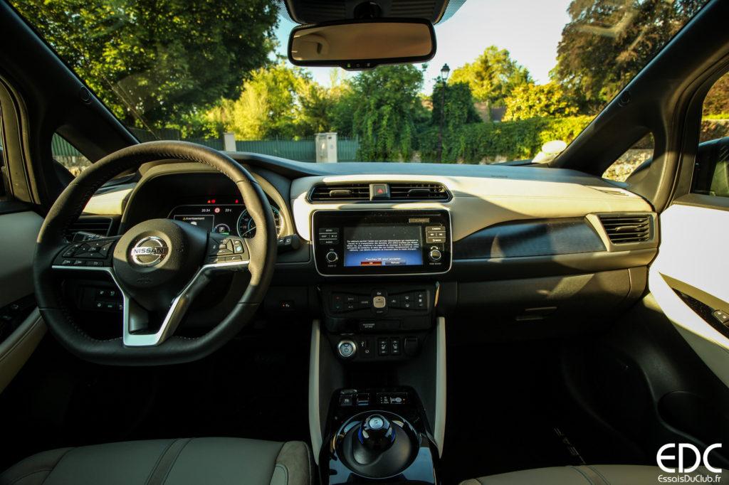 Nissan Leaf intérieur