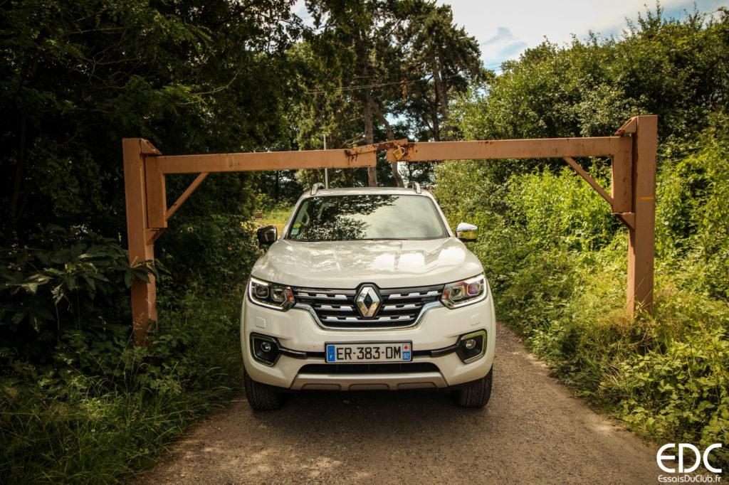 Renault Alaskan hauteur