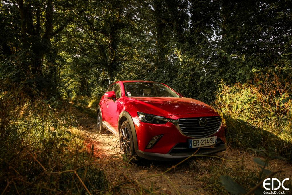 Mazda CX-3 Soul Red
