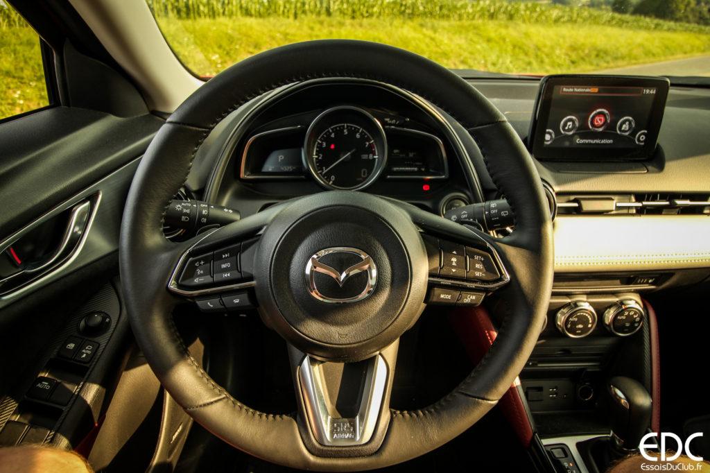 Mazda CX-3 conduite