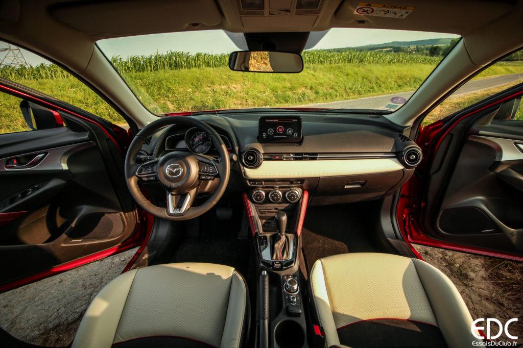 Mazda CX-3 intérieur