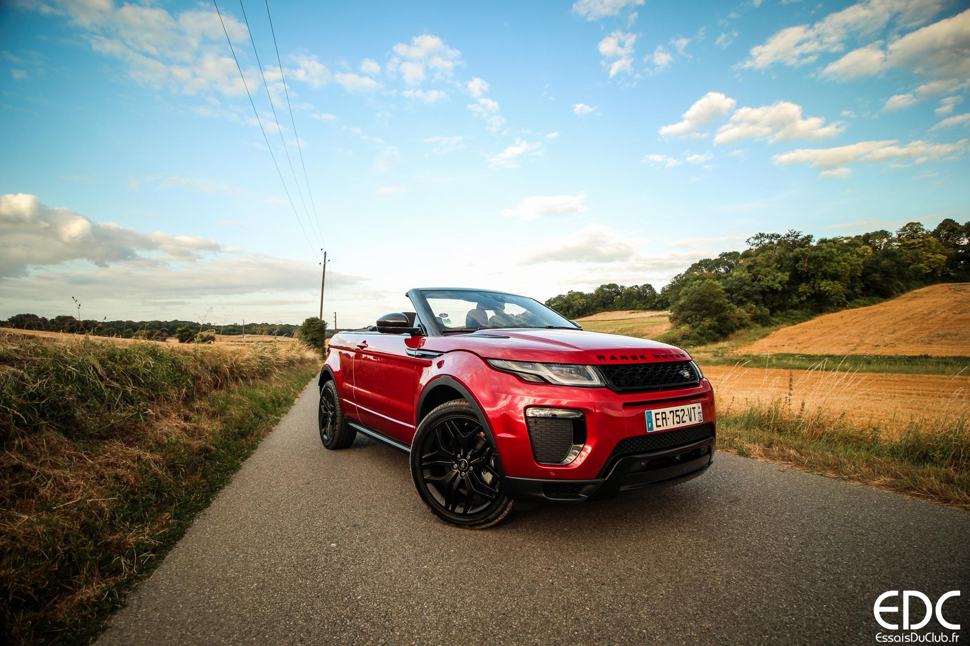 Range Rover Evoque cabrio test drive