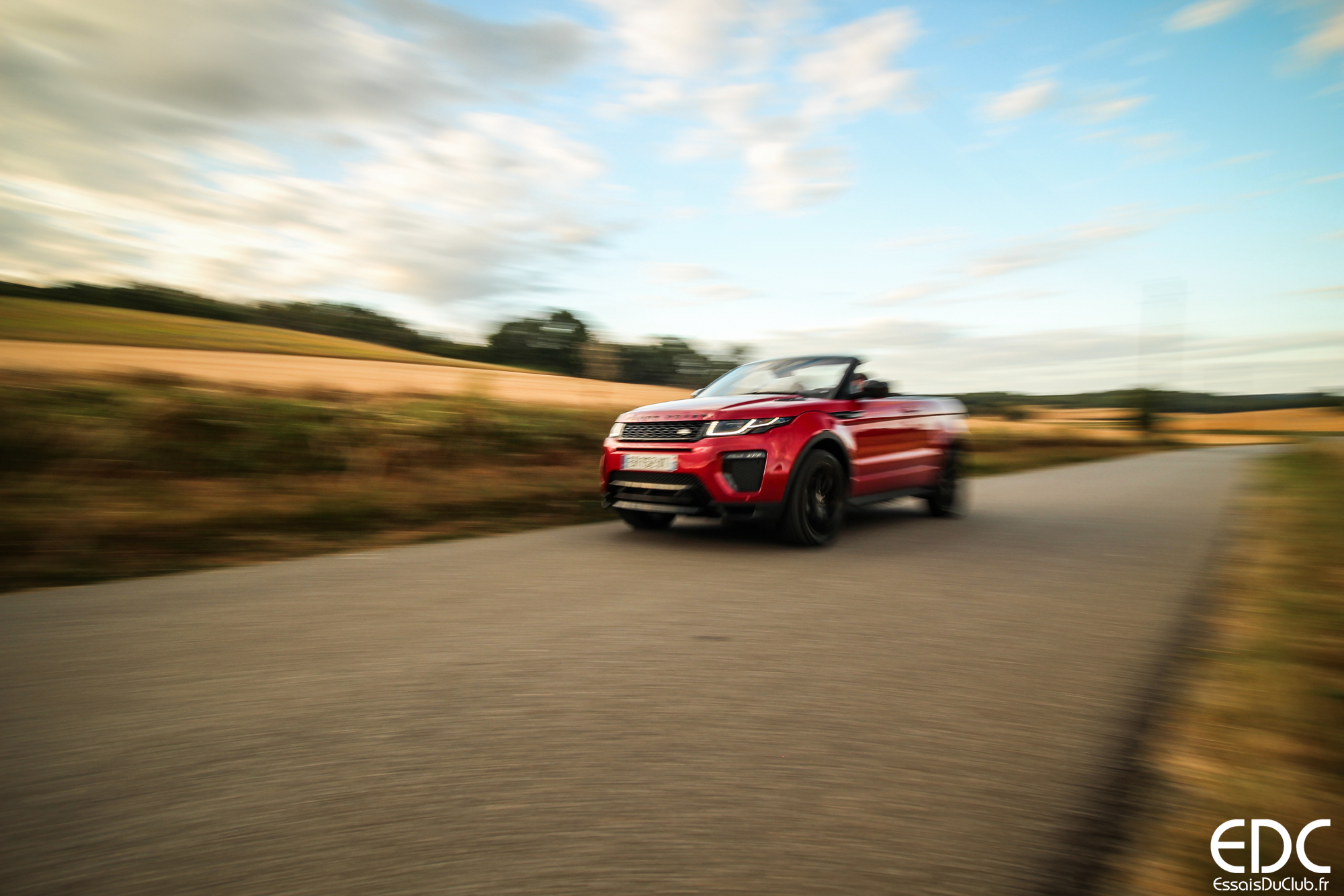 Range Rover Evoque carbiolet sport