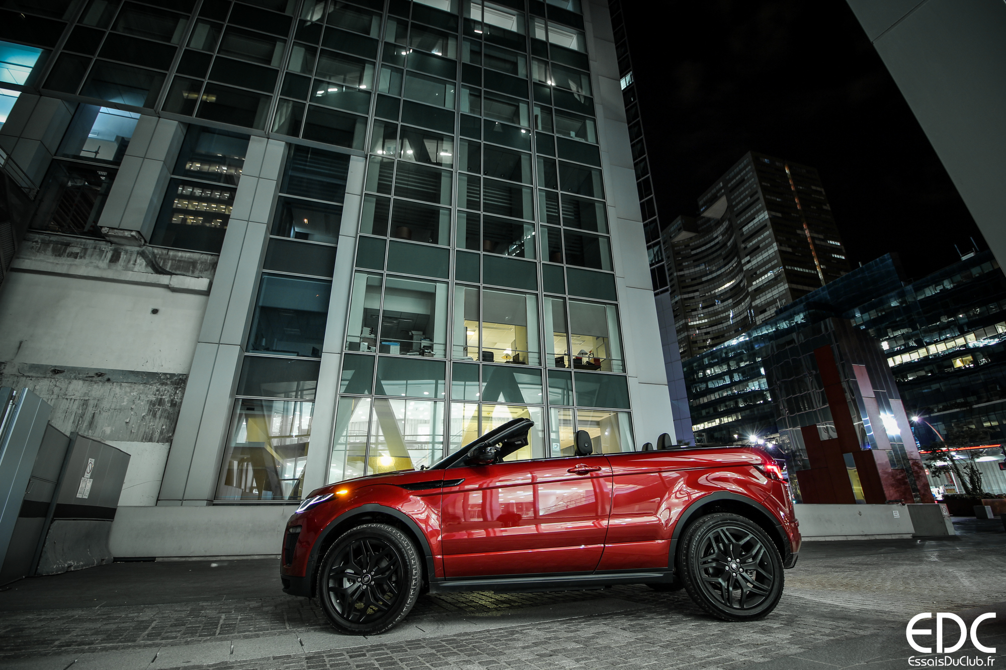 Range Rover Evoque carbiolet Firenze Red