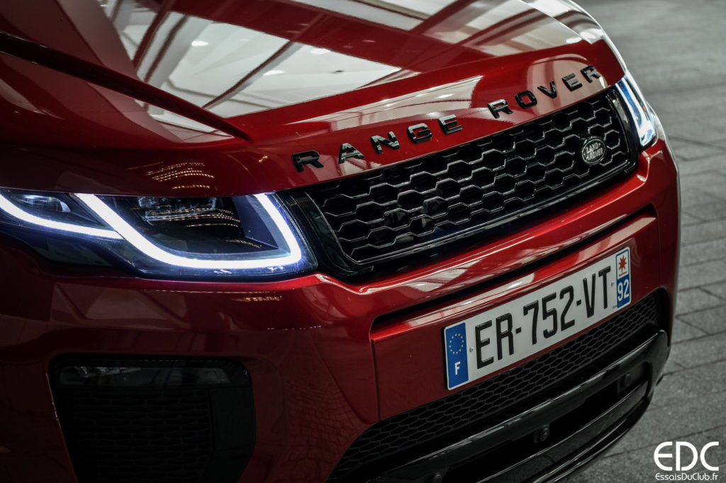 Range Rover Evoque Cabriolet 2018