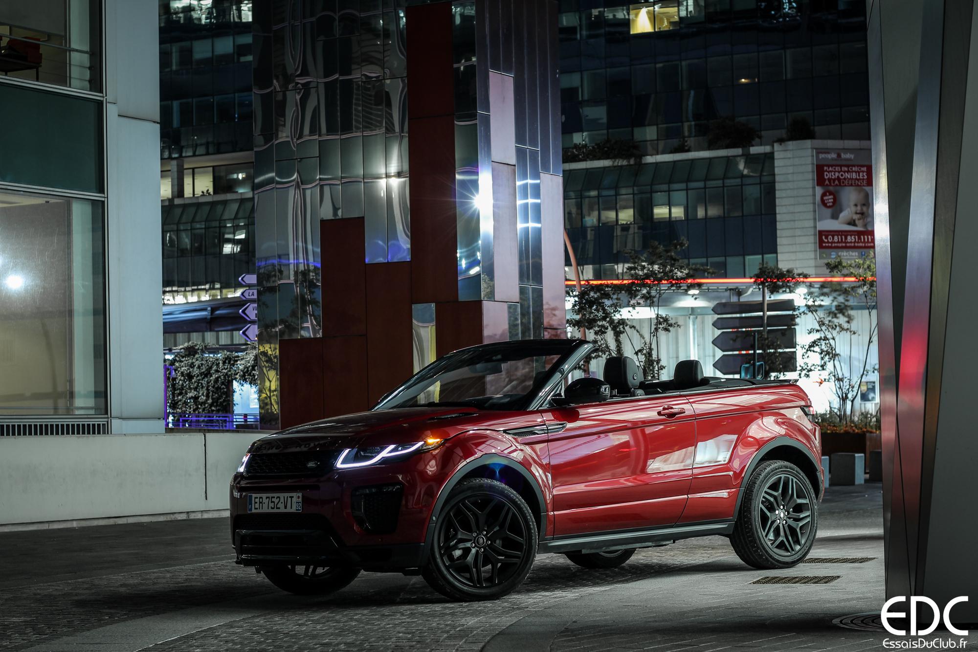 Land Rover Evoque Cabriolet 2018