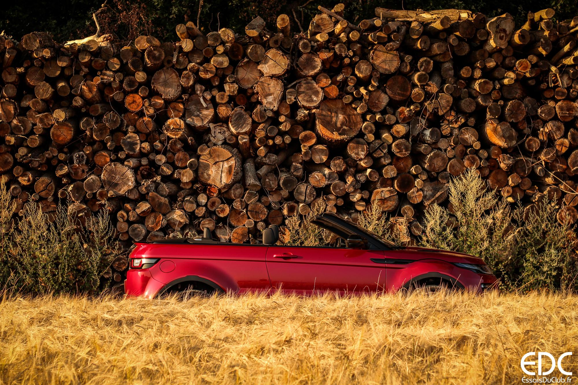 Land Rover Evoque Cabriolet profil