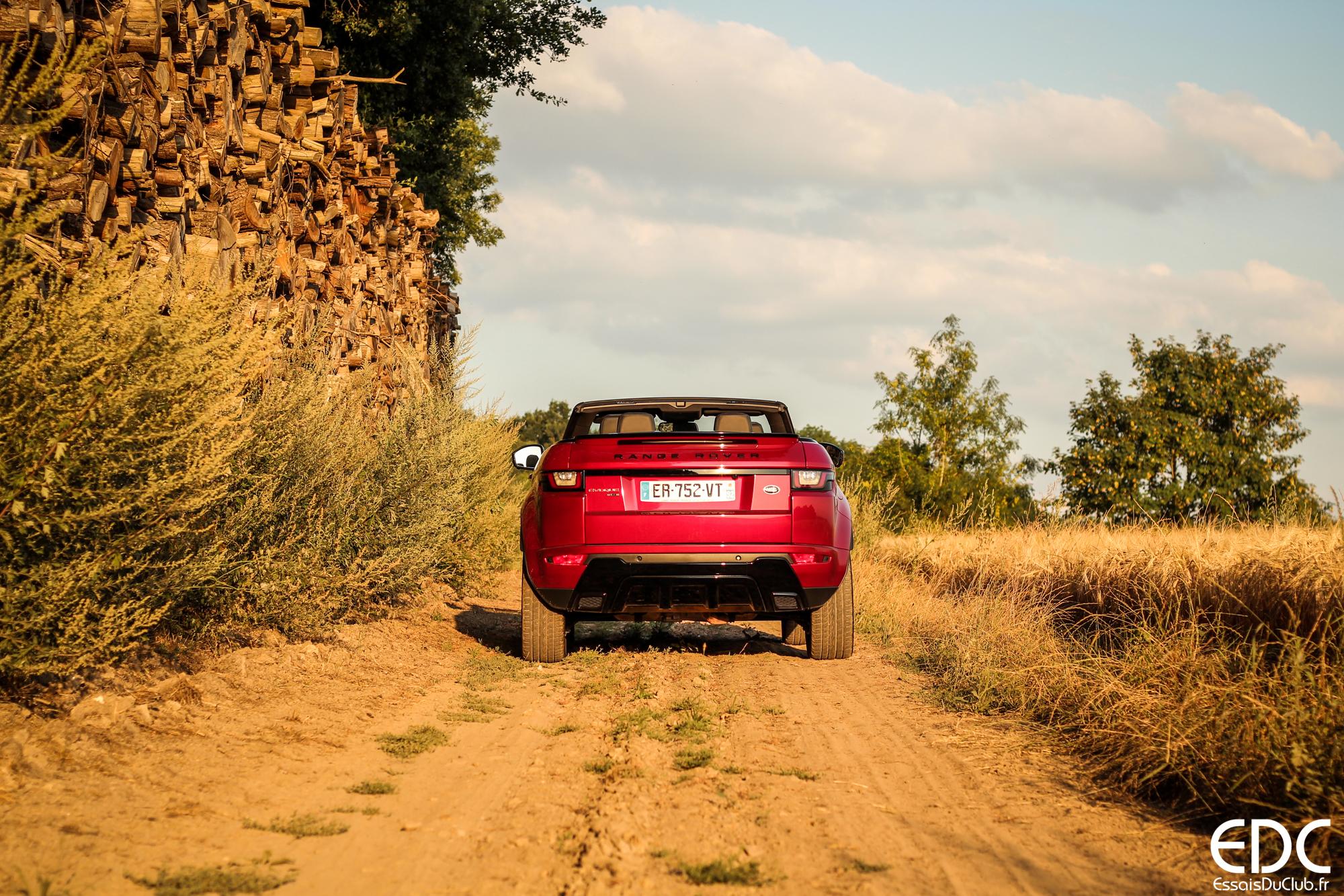 Land Rover Evoque Cabriolet arrière