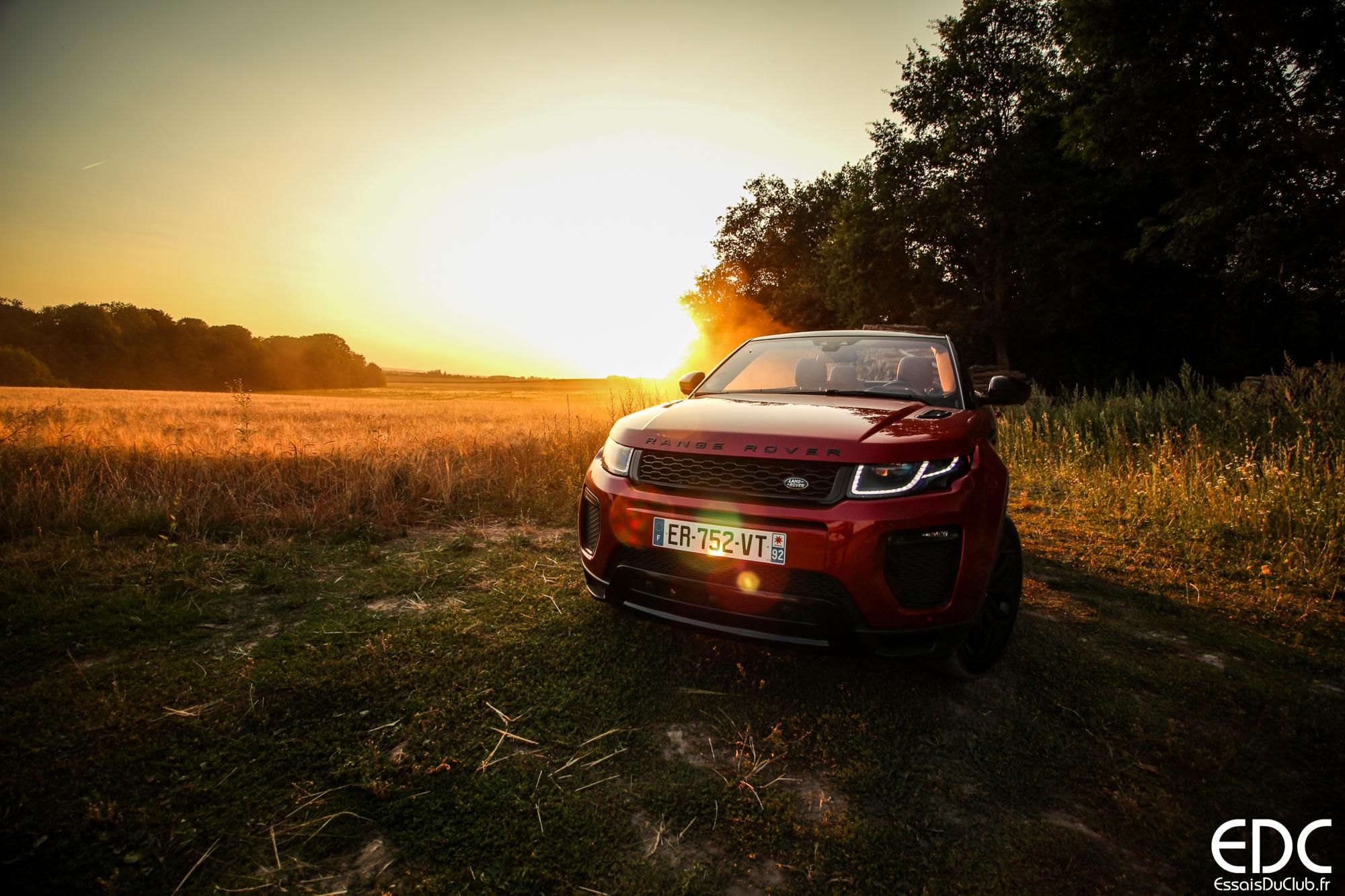 Range Rover Evoque cabriolet essence