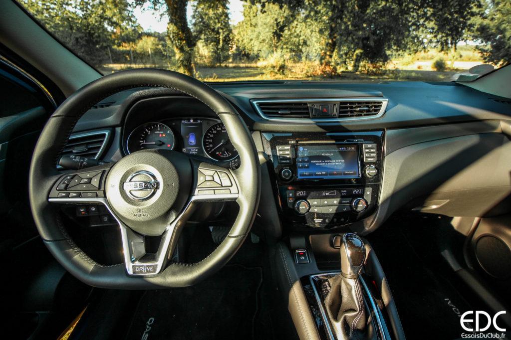 Nissan Qashqai intérieur