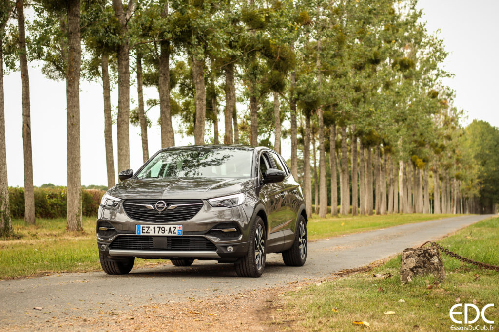 test Opel Grandland X