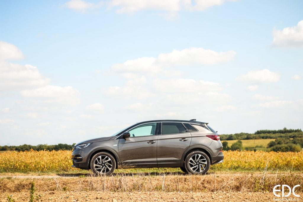 Opel Grandland X profil