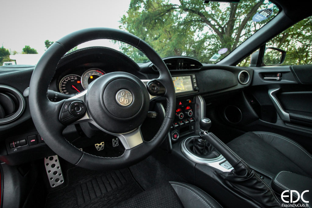 Toyota GT86 intérieur