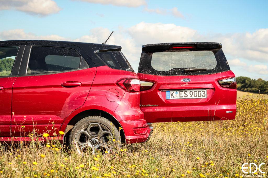 Ford EcoSport coffre