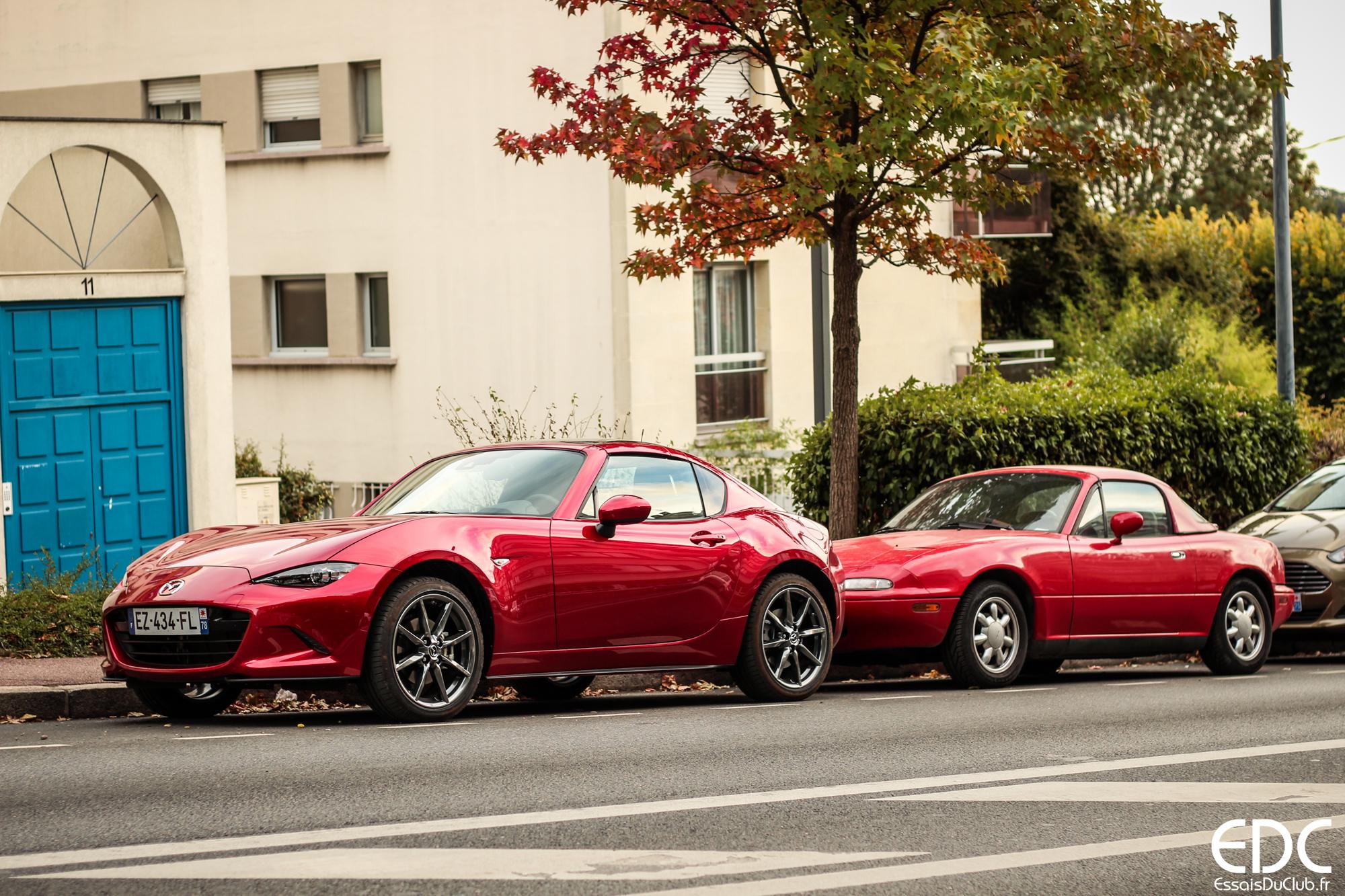 Mazda MX-5 generations