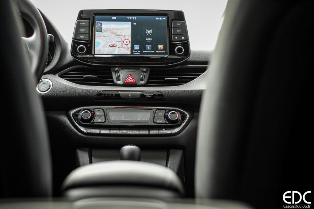 Hyundai i30 écran tactile