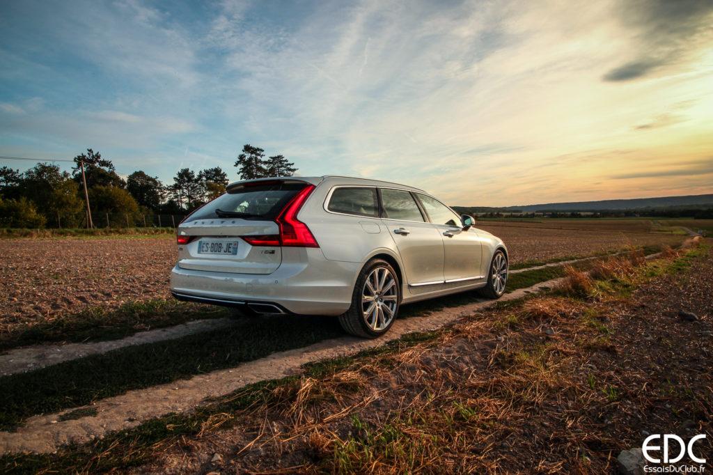 Volvo V90 testdrive