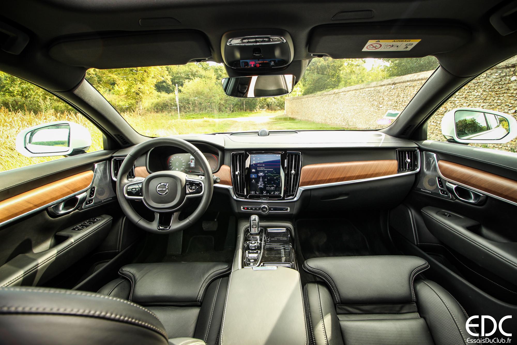 Volvo V90 intérieur