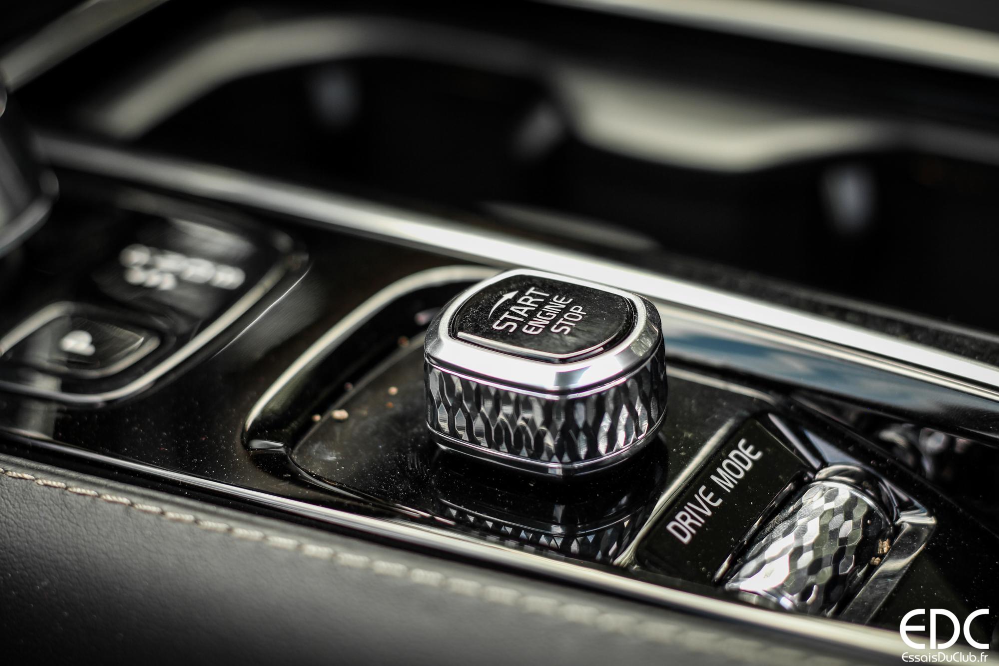 Volvo V90 keyless