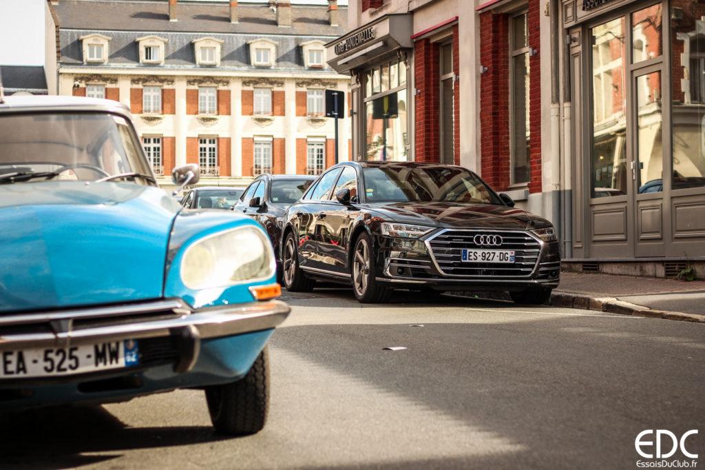 Audi A8 innovations