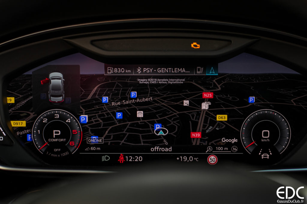 Audi A8 digital cockpit