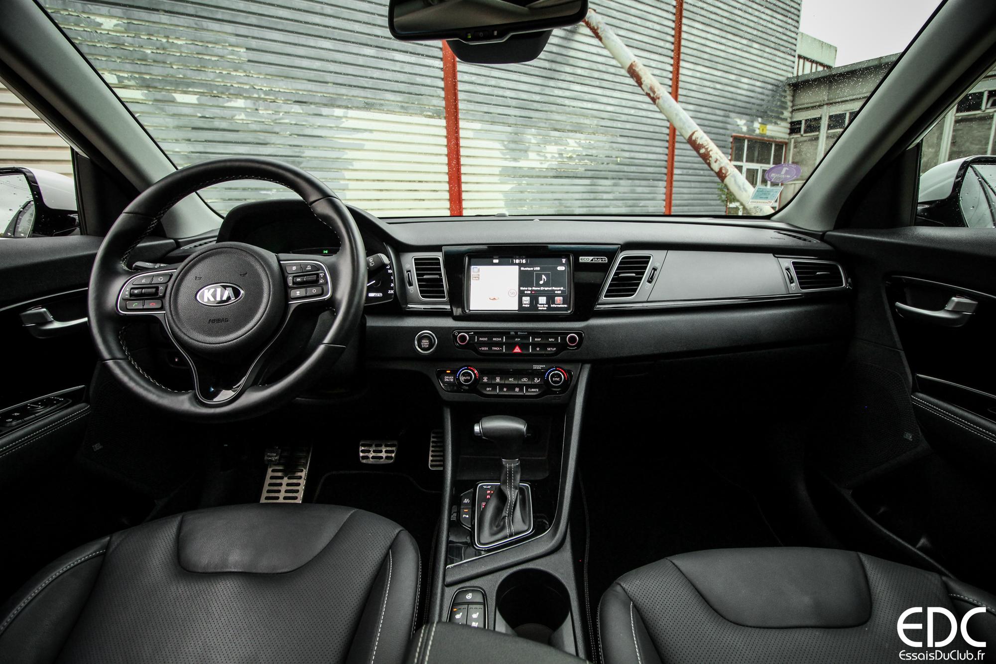 Kia Niro hybride intérieur
