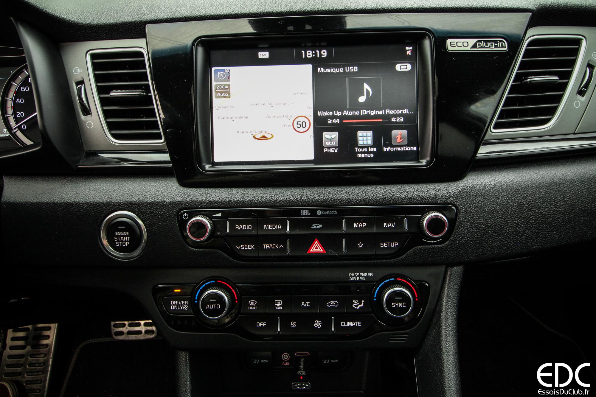 Kia Niro Hybride écran