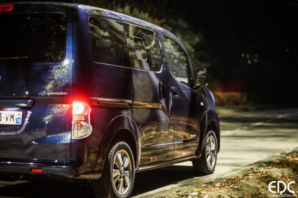 Test Nissan eNV200