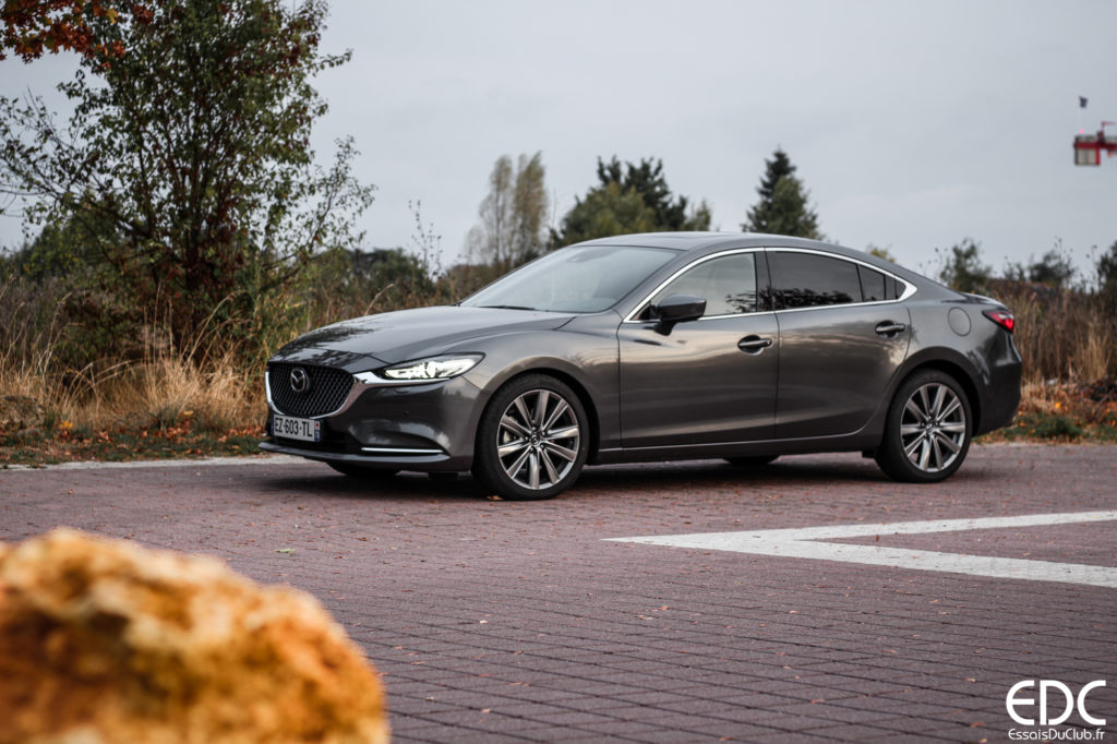 Mazda 6 machine gray