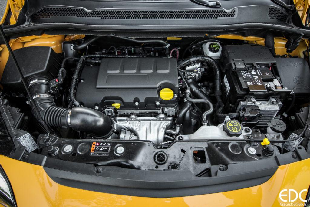 Opel Corsa GSi moteur