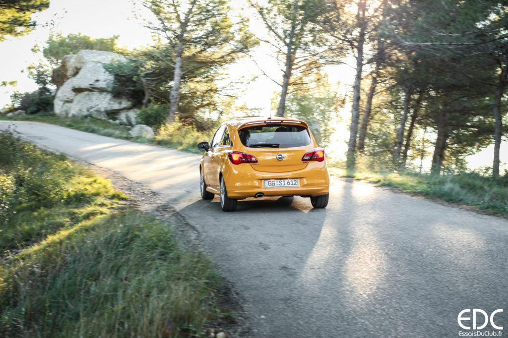 Opel Corsa GSi testdrive