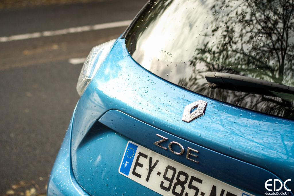 Renault Zoe détail