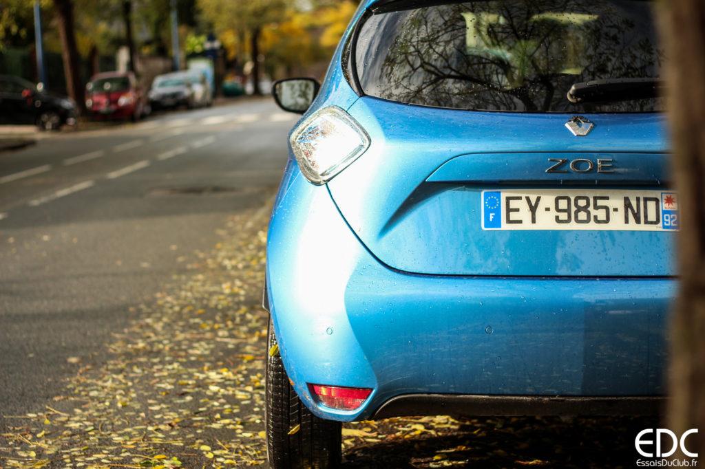 Renault Zoe autonomie