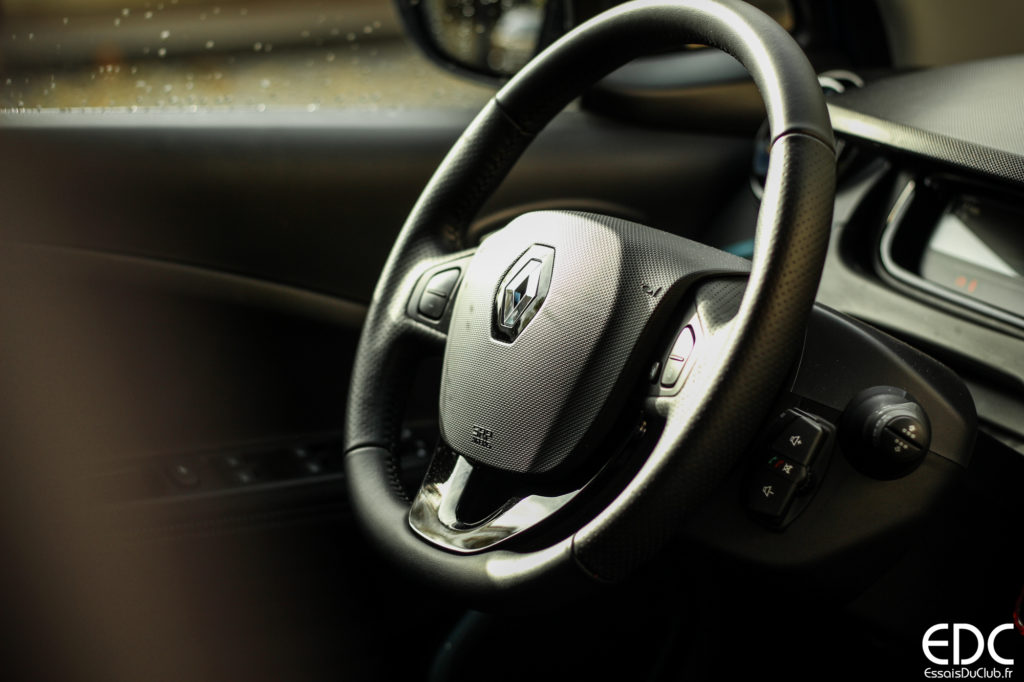 Renault Zoé conduite