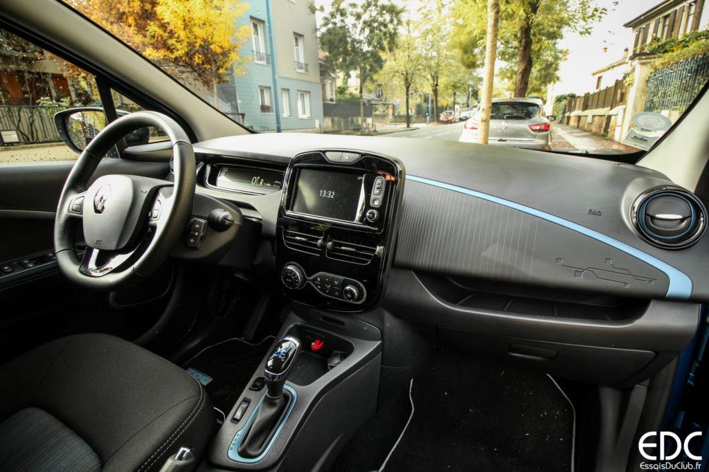 Renault Zoé intérieur
